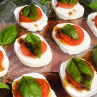 Easy Caprese Appetizer