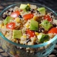 Chunky Southwestern Quinoa Salad