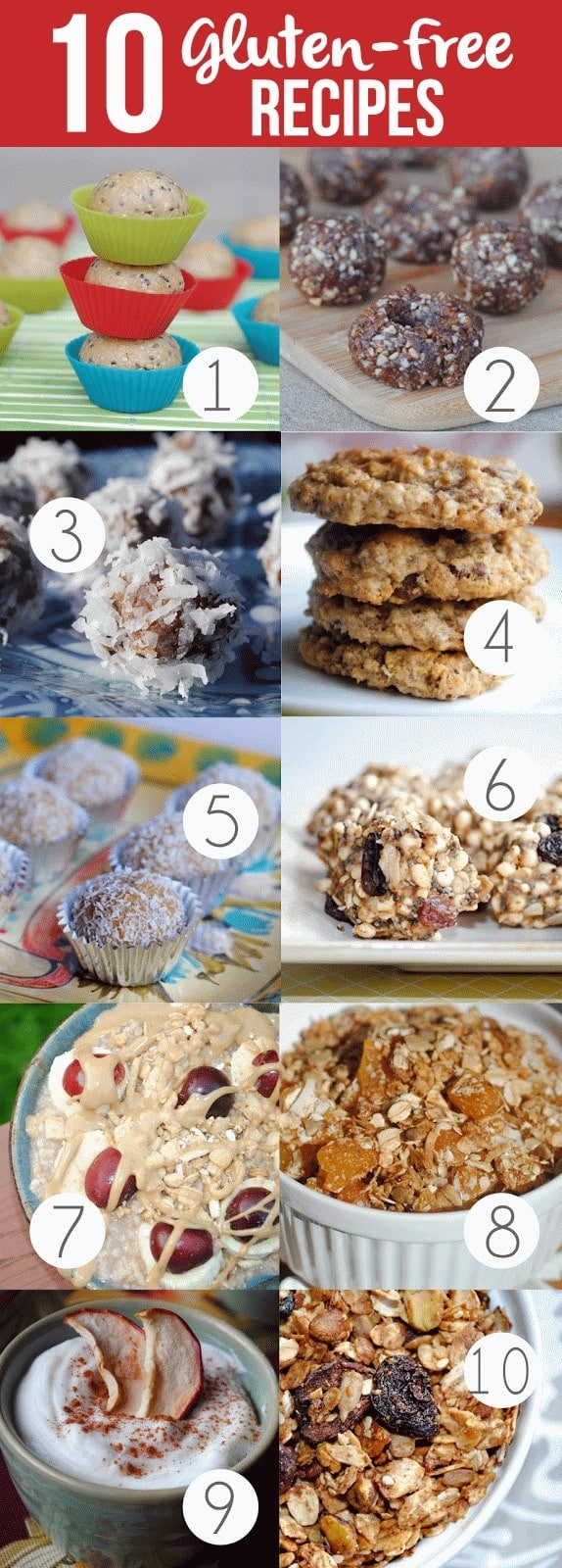 10 Gluten-Free Recipes