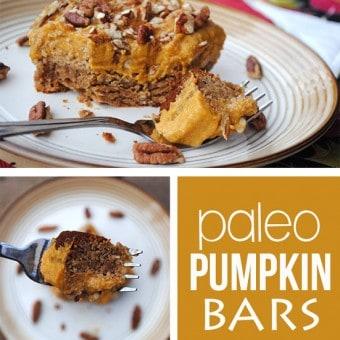 Paleo Pumpkin Bars