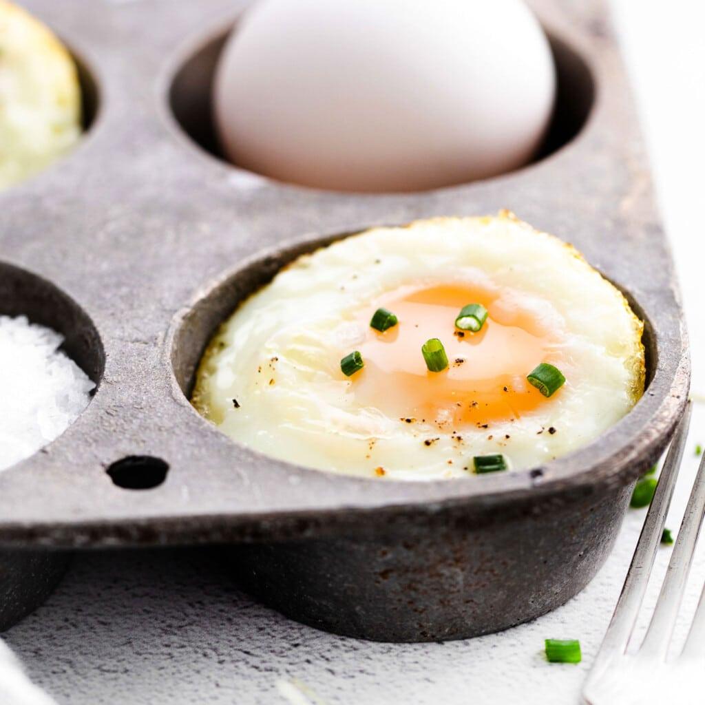 eggs in muffin tin