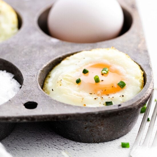 eggs in muffin tin