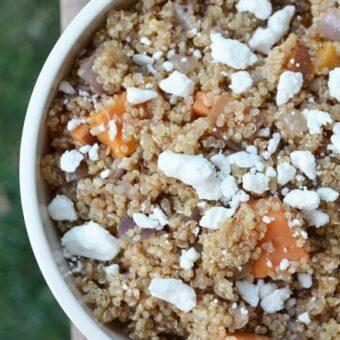 Roasted Sweet Potato Quinoa