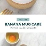 banana mug cake pin