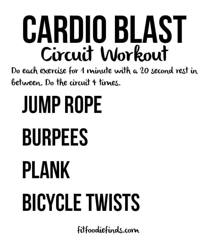 cardio blast circuit workout