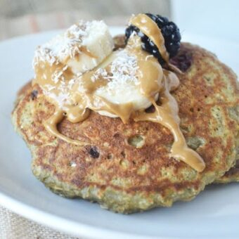 Blackberry Banana Pancakes