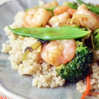 Shrimp Stir Fry + BUTI