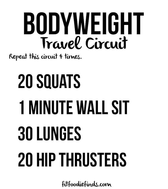 bodyweight travel circuit workout