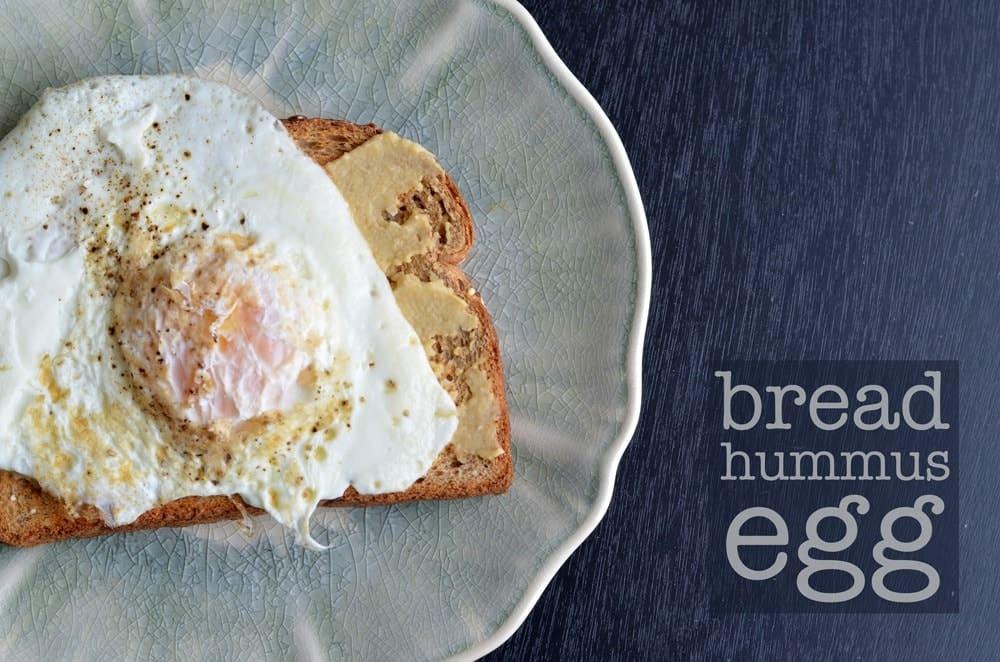 bread-hummus-egg