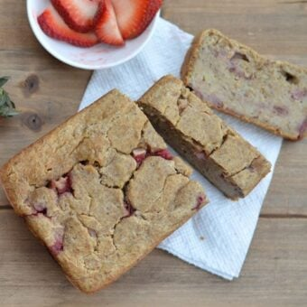 Strawberry Banana Breakfast Bread