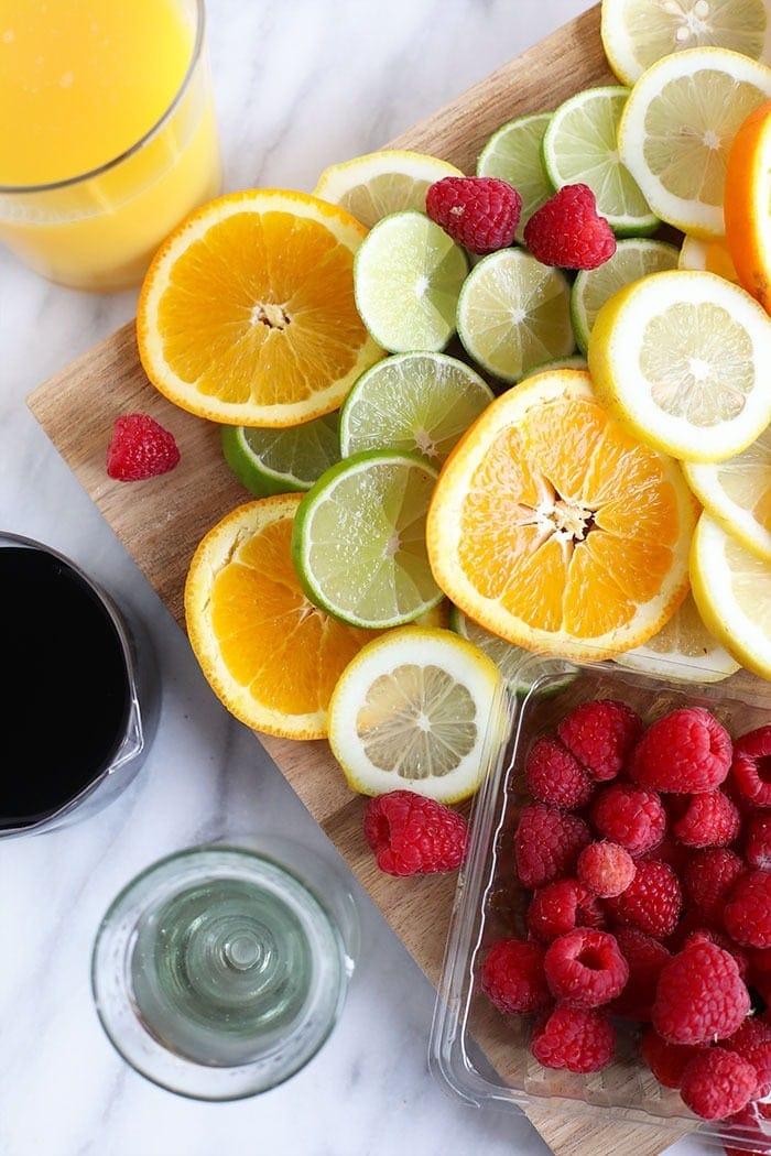best sangria fruit