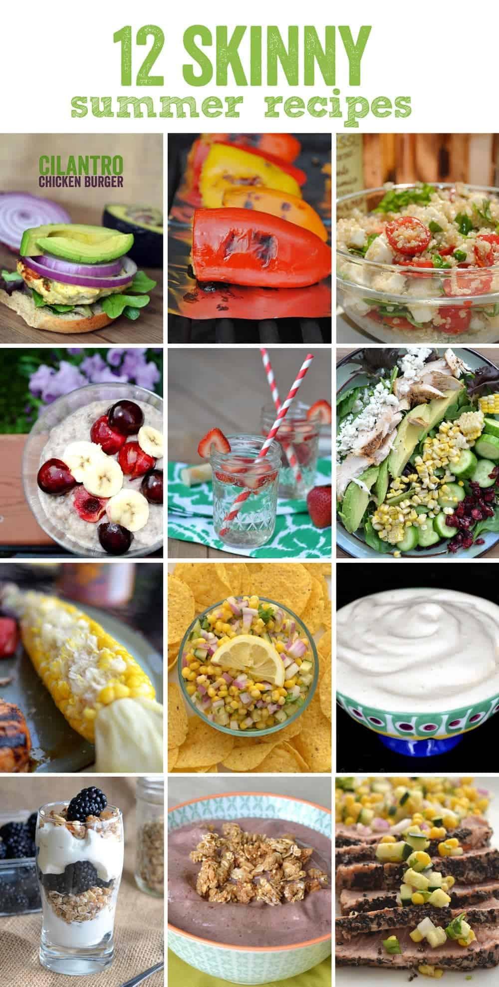 12 Skinny Summer Recipes