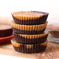 stack of 4 peanut butter cups