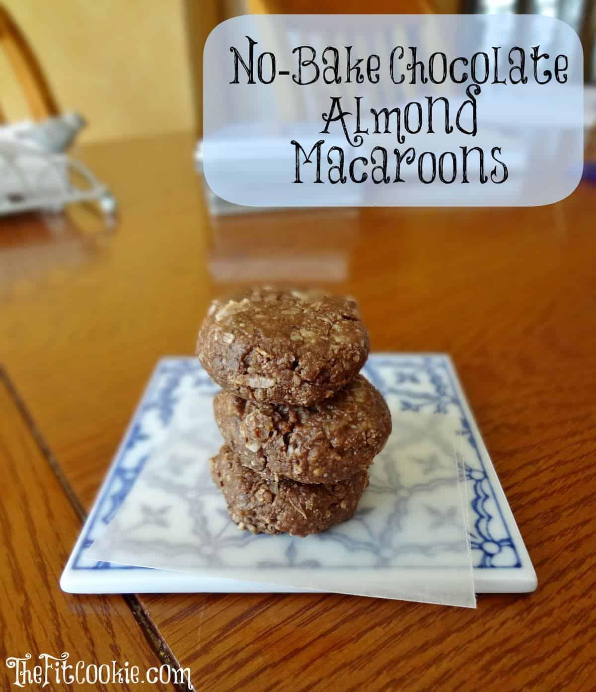 Chocolate Macaroons (4) WM