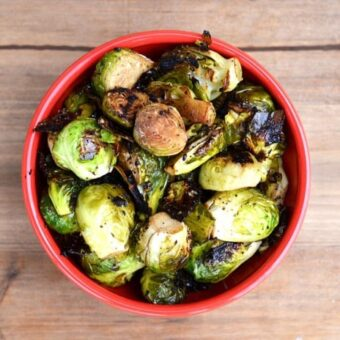 Grilled Brussels Sprouts. I like them.