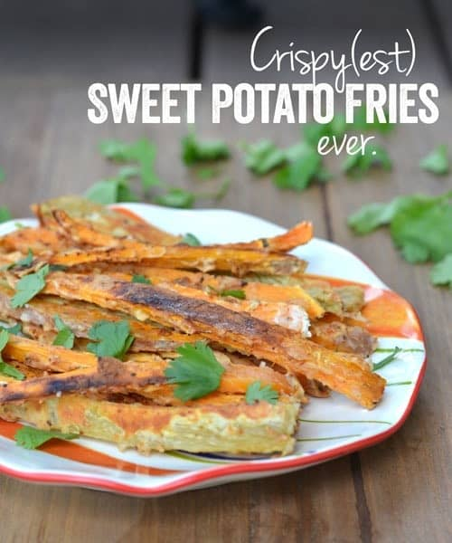 The Crispiest Sweet Potato Fries Ever