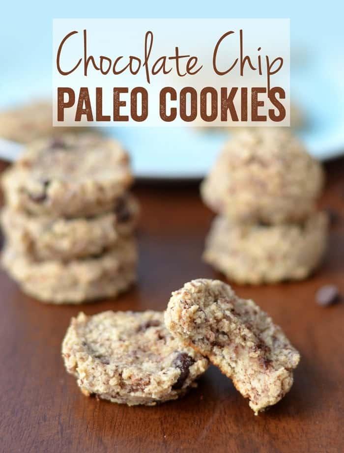 Chocolate Chip Paleo Cookies