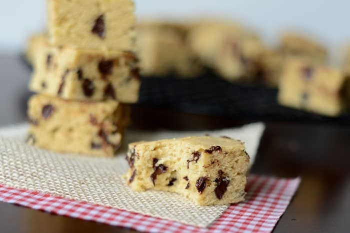 Healthier Gluten Free Blondies #fitlfluential