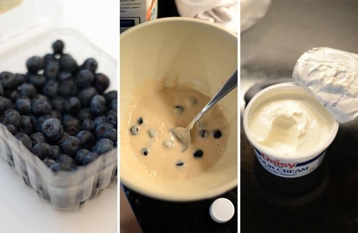 Gluten-Free Blueberry Coffee Cake #singleserve #glutenfree