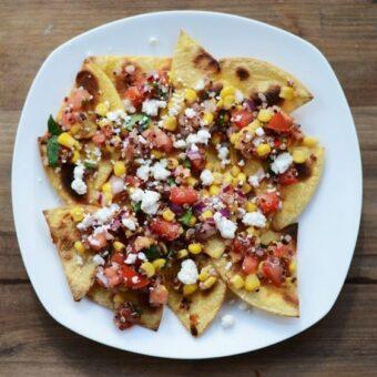 Healthy Quinoa Nachos