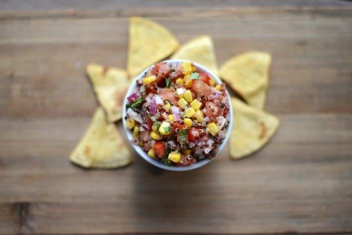 Quinoa Salsa