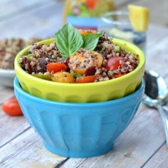 Beet and Tomato Quinoa Salad