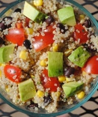 Chunky SW Quinoa Salad