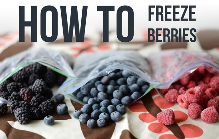 Don't let your berries go bad! Follow my easy tutorial and learn how to freeze berries so that you can enjoy them all year round!