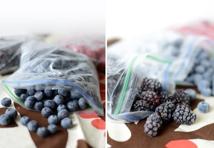 How to Freeze Berries #fitfluential #eat
