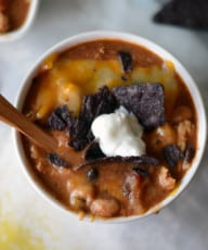 Crock-Pot Chicken Chili