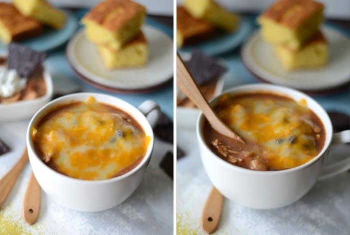 Crock-Pot Chicken Chili #healthy #fitfluential #glutenfre