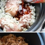 Throw all of the ingredients for this Healthy Crockpot Sesame Chicken recipe into your slow cooker and have dinner ready in no time. This healthy crockpot chicken recipe is kid-friendly, gluten-free friendly, and an excellent meal prep chicken recipe.
