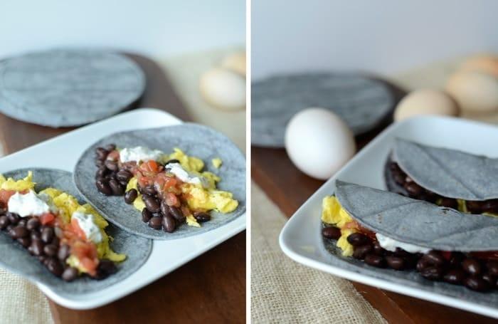 Breakfast Tacos! #glutenfree #fitfluential