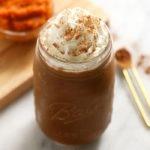 smoothie in jar