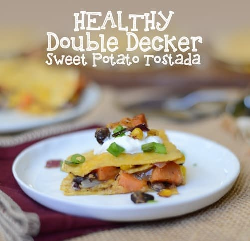 sweet potato and black bean tostadas with avocado black bean and sweet ...