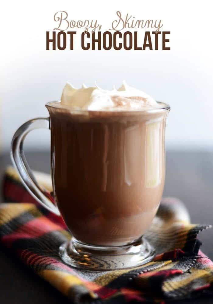 Lighten up the classic hot cocoa recipe with almond milk and stevia for this delicious Skinny Hot Chocolate that's paleo and vegan, too!