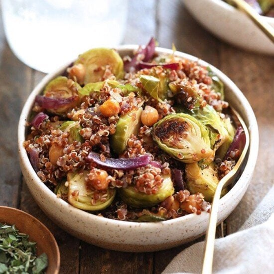 Brussel Sprout Salad