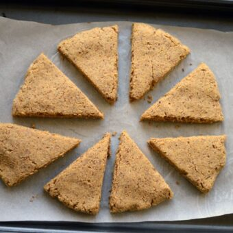 Feeling Inspired + Paleo Pumpkin Scones