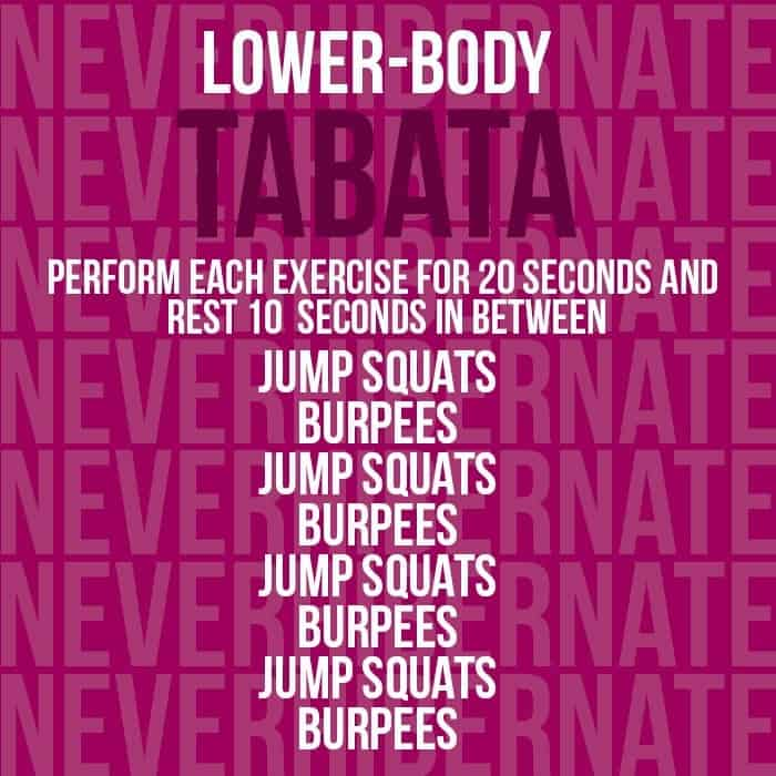 Triple Tabata Workout - Fit Foodie Finds