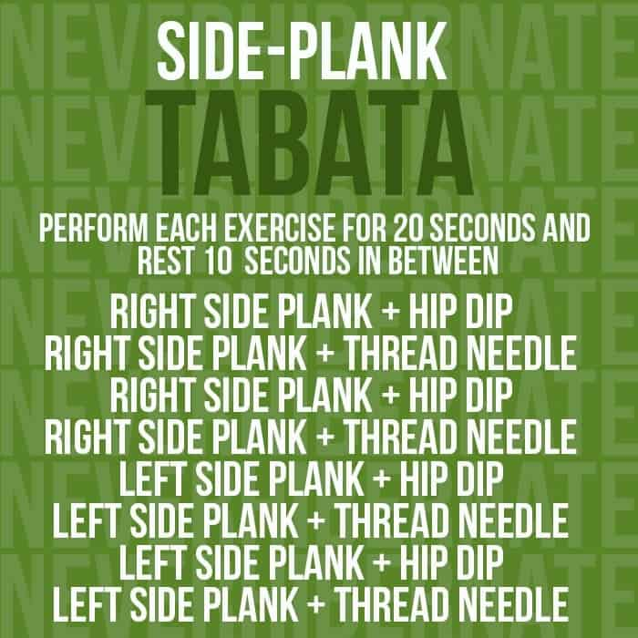 triple tabata workout   fit foodie finds