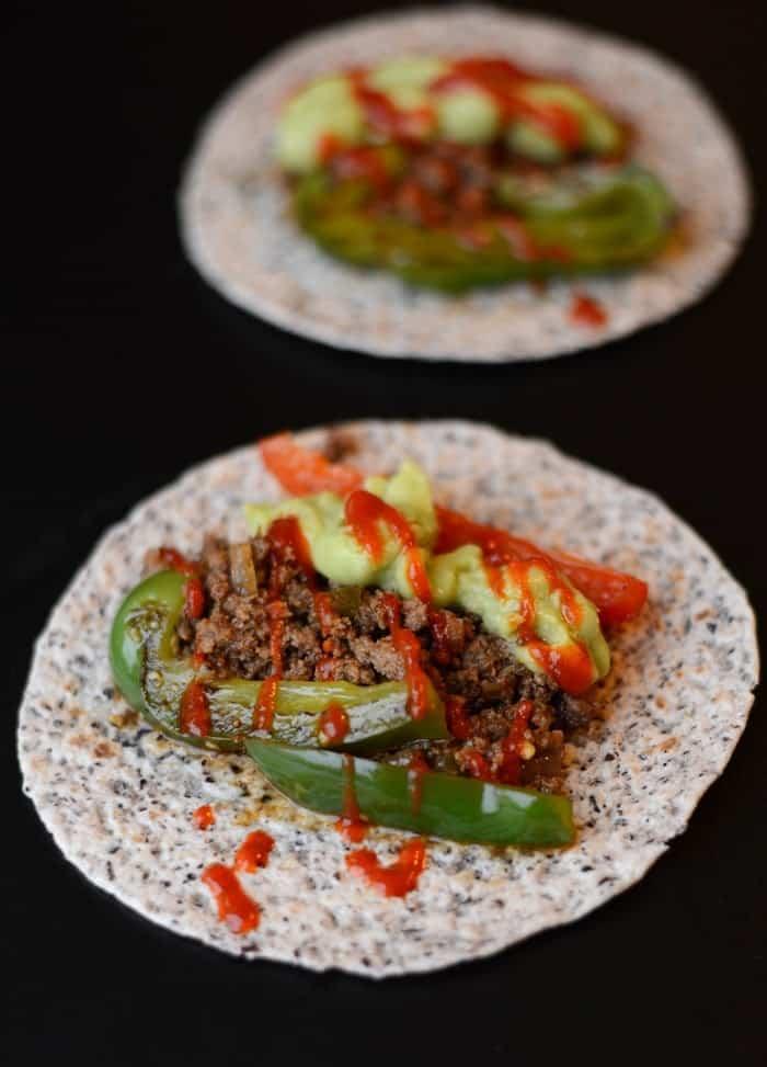Crock-Pot Fajita Tacos