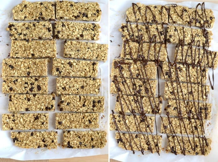 Chewy Peanut Butter Banana Granola Bars #Fitfluential #EAT #glutenfree