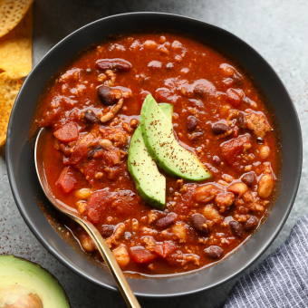Lazy Girl Turkey Salsa Chili