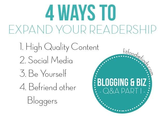 4 Ways to Expand Your Readership