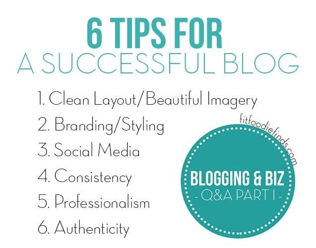 6 Tips for a Successful Blog