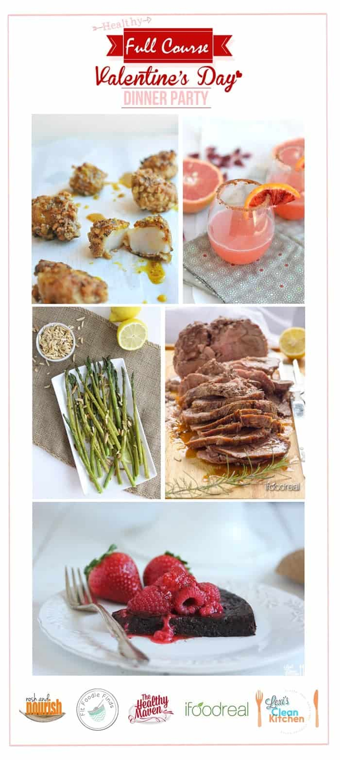 Healthy Valentine S Day Dinner Party Fit Foodie Finds