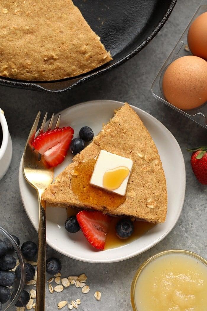 Prepared breakfast cake.