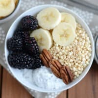 Chia Yogurt Power Bowl + Bootcamp WOD