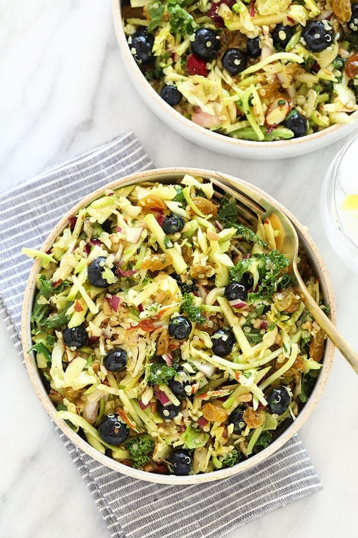 Brussels Sprout Detox Salad