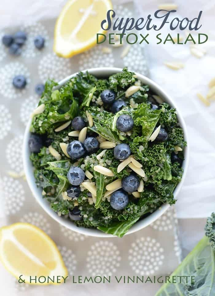 Super Food Detox Salad #glutenfree